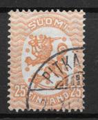 Finland 1925 - AFA 113A - stemplet