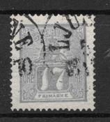 Sverige 1862 - AFA 15a - stemplet