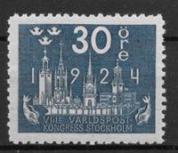 Sverige 1924 - AFA 164a - postfrisk
