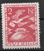 Sverige 1924 - AFA 187 - ustemplet
