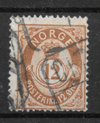 Norge 1883 - AFA 41a - stemplet