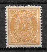Island 1896 - AFA 12B - postfrisk