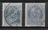 Island 1882 - AFA 14-14a - stemplet