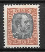 Island 1902 - AFA 47 - postfrisk