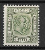 Island 1907 - AFA 51 - ustemplet