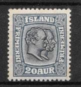 Island 1915 - AFA 82 - postfrisk