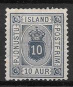 Island 1876 - Tj. 5a - ustemplet
