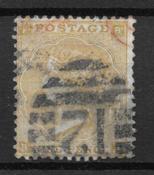 England 1862 - AFA 21 - stemplet