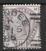 England 1883 - AFA 73 - stemplet