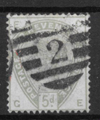 England 1883 - AFA 78 - stemplet