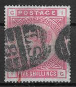 England 1863 - AFA 83 - stemplet