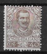 Italien 1901 - AFA 74 - ustemplet