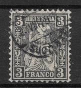 Schweits 1862 - AFA 34 - stemplet