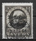Bayern 1919 - AFA 136 - stemplet