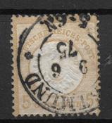 Tyske Rige 1872 - AFA 22 - stemplet