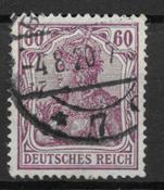 Tyske Rige 1905 - AFA 92a - stemplet