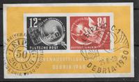 D.D.R. 1950 - AFA 105 - stemplet