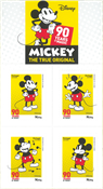 Portugal - Mickey Mouse, 90 Years se * - Timbre neuf