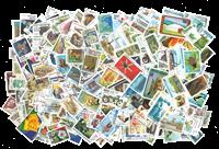 Mundial - Paquete de 10.000 sellos diferentes