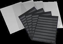 Ficha clasificadora Leuchtturm, A4 - con bolsa