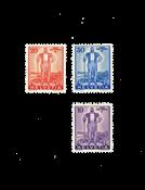 Suisse 1936 - Michel 294/96 - Neuf avec charnière