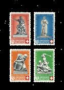 Suisse 1940 - Michel 364/67 - Neuf avec charnière