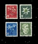 Suisse 1944 - Michel 439/42 - Neuf avec charnière