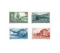 Suisse 1948 - Michel 508/11 - Neuf avec charnière