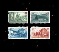 Schweiz 1948 - Michel 508/11 - Ubrugt