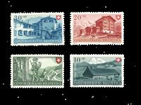 Schweiz 1948 - Michel 508/11 - Postfrisk