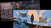 France - Armistice 1ère Guerre Mondiale - Bloc-feuillet neuf en pochette