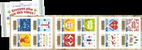 France - Carnet timbres Voeux à gratter - Carnet neuf