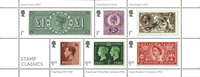 England - Frimærkeklassikere - Postfrisk miniark