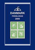 AFA stamp catalogue - Denmark - 4-Blocklist 2005