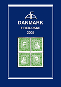 AFA Danmark 4-blokliste frimærkekatalog 2005