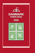 AFA Danmark 4-blokliste frimærkekatalog 2009