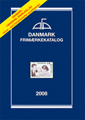 AFA stamp catalogue - Denmark 2008 in coulor
