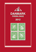 AFA Danmark 4-blokliste frimærkekatalog 2012