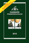 AFA stamp catalogue - Denmark 2010 in colour