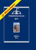 AFA Østeuropa frimærkekatalog del 2,2011 R-U