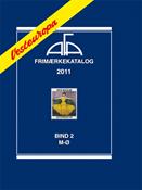 AFA Vesteuropa frimærkekatalog bind II, 2011