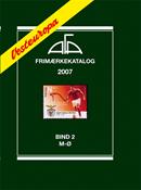 AFA stamp catalogue - Denmark - 2007 Vol. 2