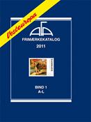 AFA Vesteuropa frimærkekatalog bind I, 2011
