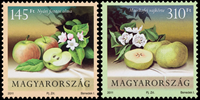 Hungary - Apples and pears - Mint set 2v
