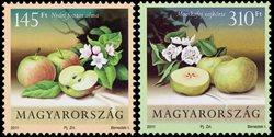 Hongrie - Pommes et poires - Série neuve 2 v