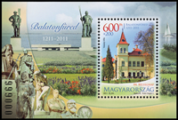 Hungary - Day of the stamp, tourism - Mint s/s
