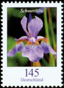 Allemagne - Fleur, Iris 1v * - Neuf