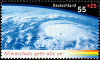 Allemagne - Climat, Masse Orageuse 1v * - Timbre neuf