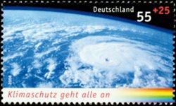 Allemagne - Climat, Masse Orageuse 1v * - Timbre neuf