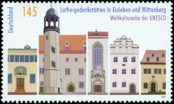 Allemagne - Unesco, Eisle & Witten '09 - Timbre neuf